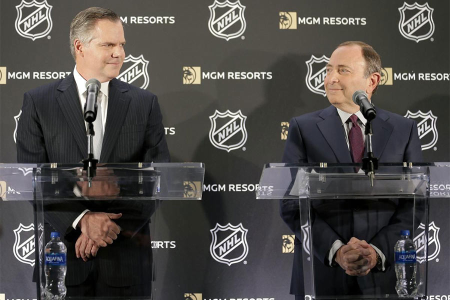 NHL joins forces with MGM casino group