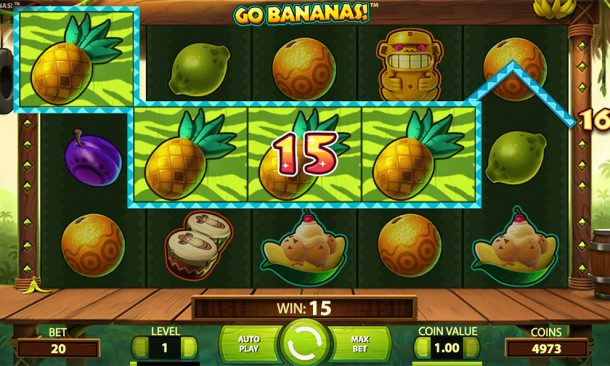 Go Bananas real money slots