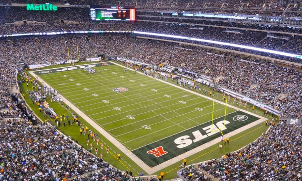 Metlife Stadium NY Jets NFL gambling news