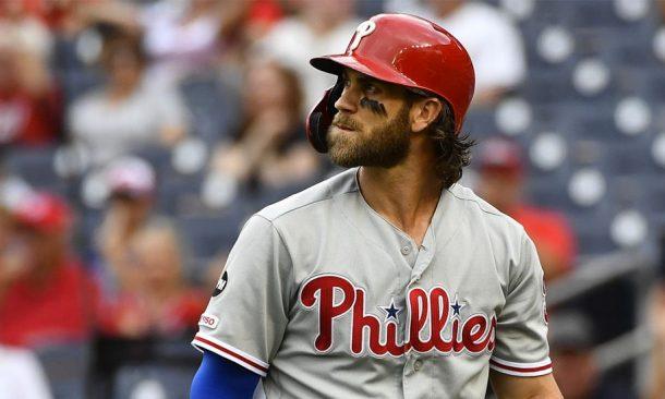 Bryce Harper MLB betting